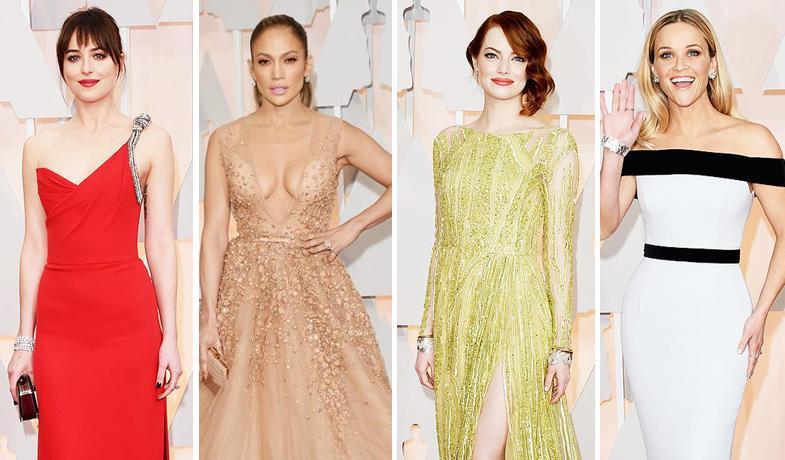 Looks y vestuario de los Oscars 2015
